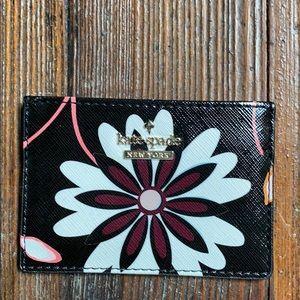 Kate Spade Floral Card Holder